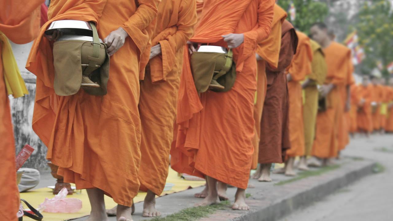 Monniken in Vietnam