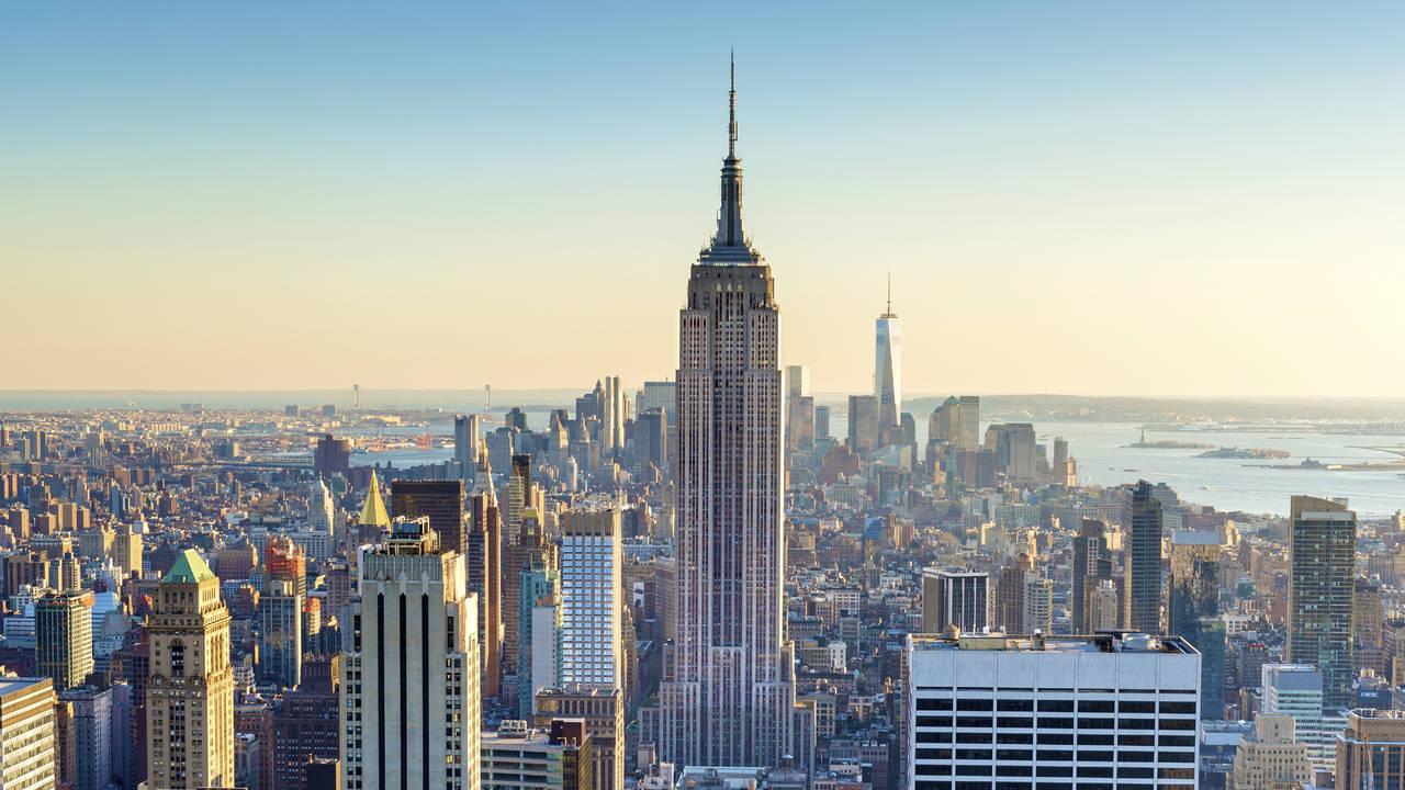 New York City vanaf Top of the Rocks