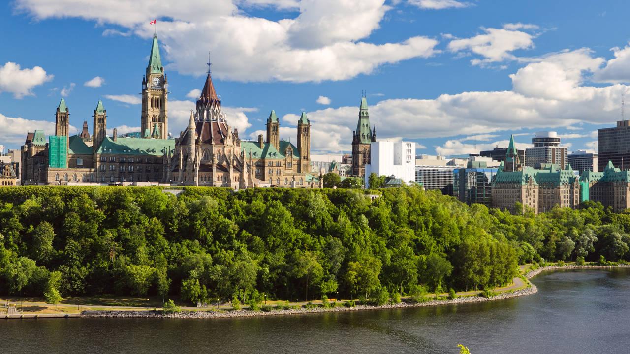 Uitzicht op Ottawa