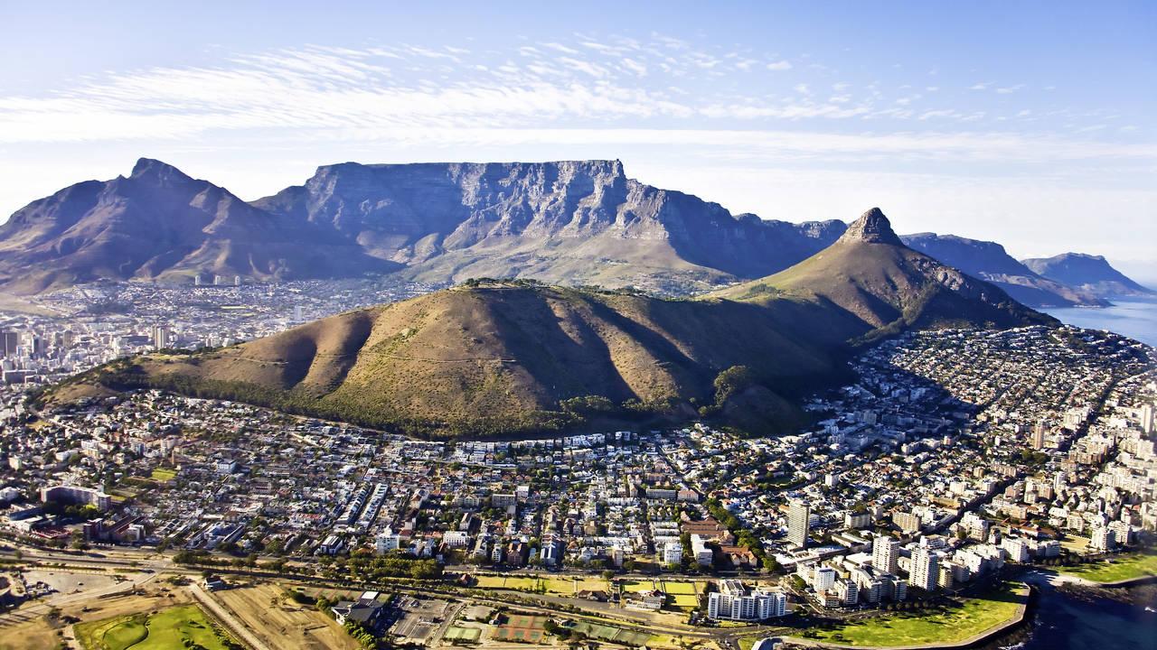 Overzicht van Kaapstad