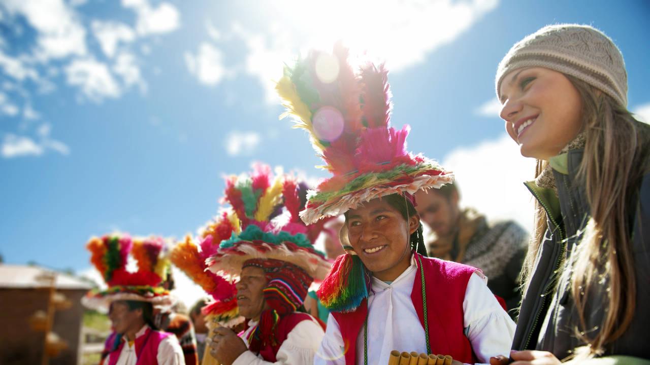 Locals van Peru