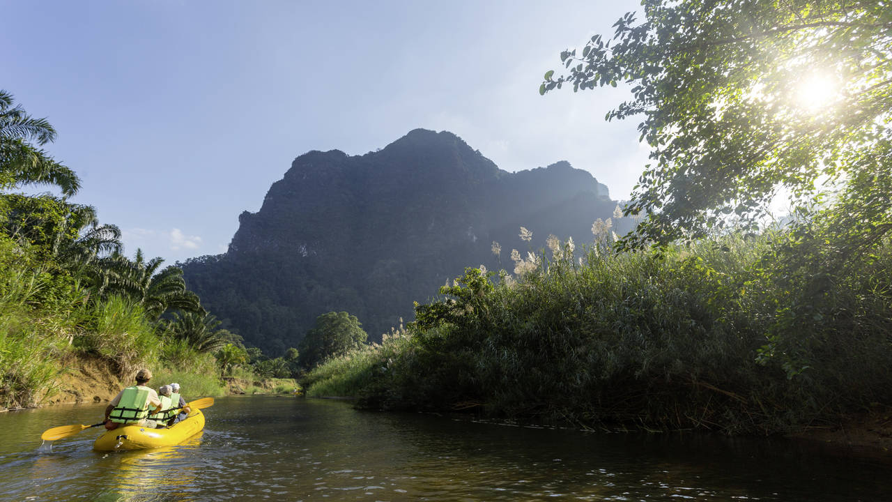 Kano in Khao Sok National Park