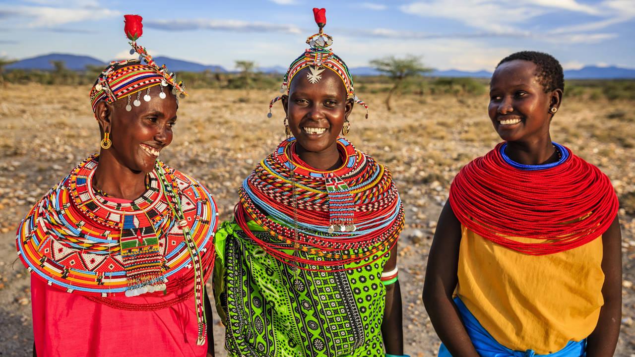 Locals in Kenia
