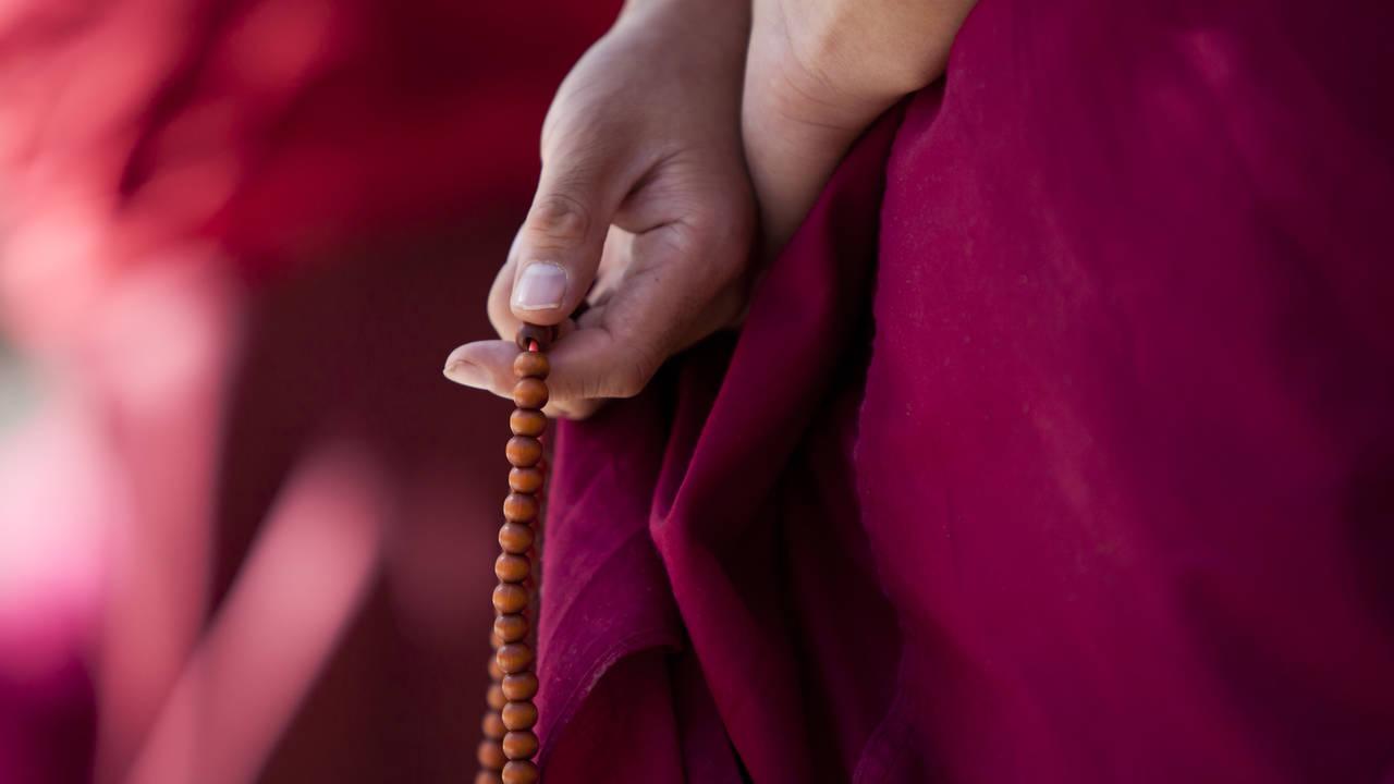 Monnik, Tibet