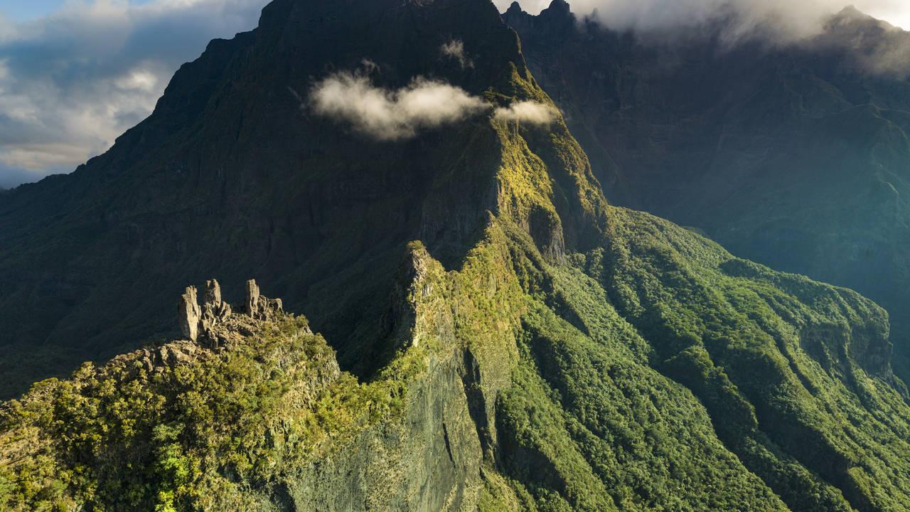 Vulkaankrater, La Réunion