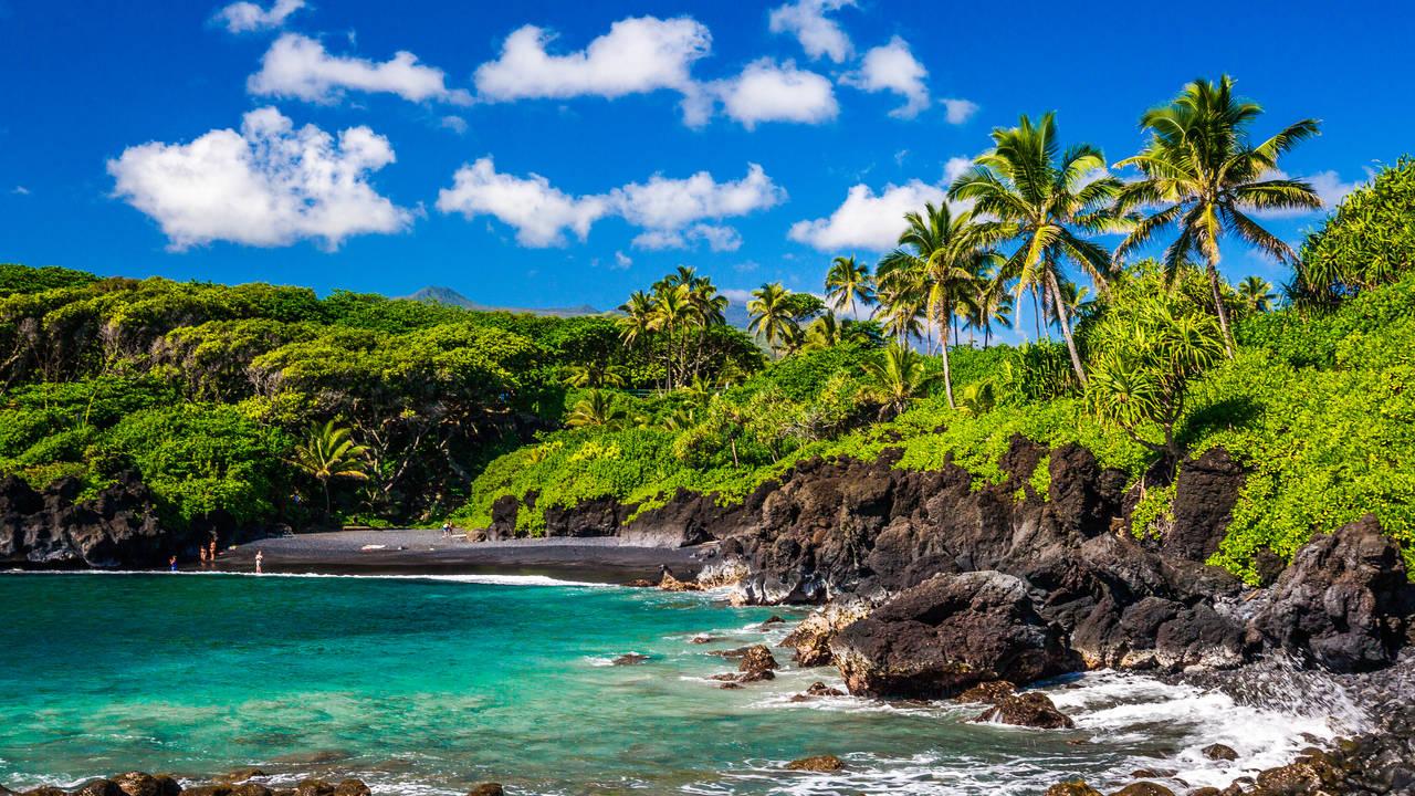 Wainanapa State Park, Maui, Hawaii
