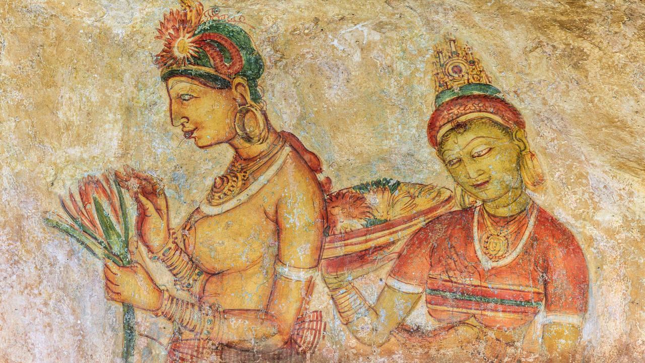 Fresco, Sigiriya