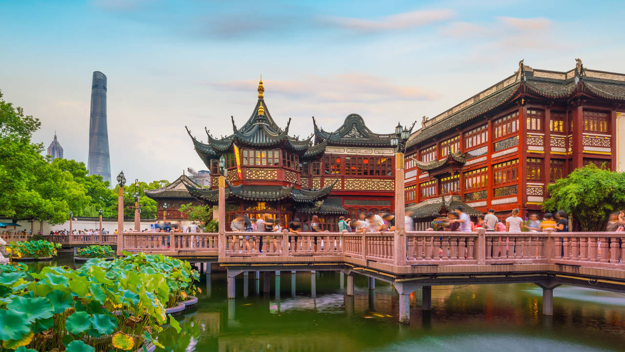Yu-tuin in Shanghai