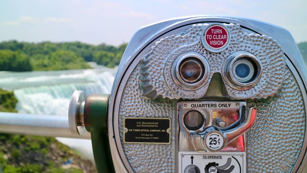 Niagara Falls in close-up bewonderen