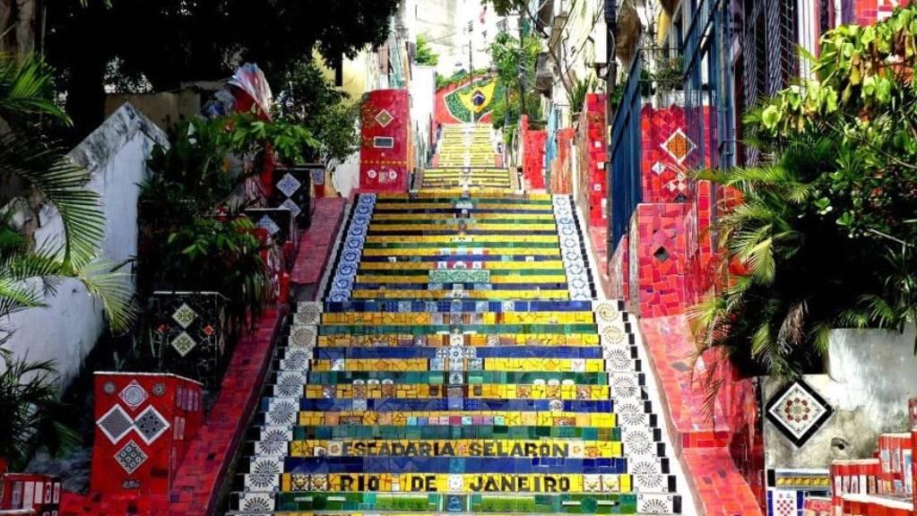 Selaron trappen Rio de Janeiro