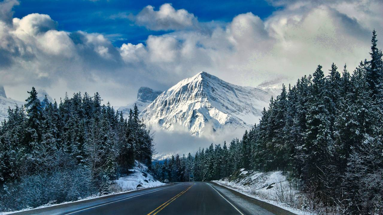 Icefields Parkway, West-Canada