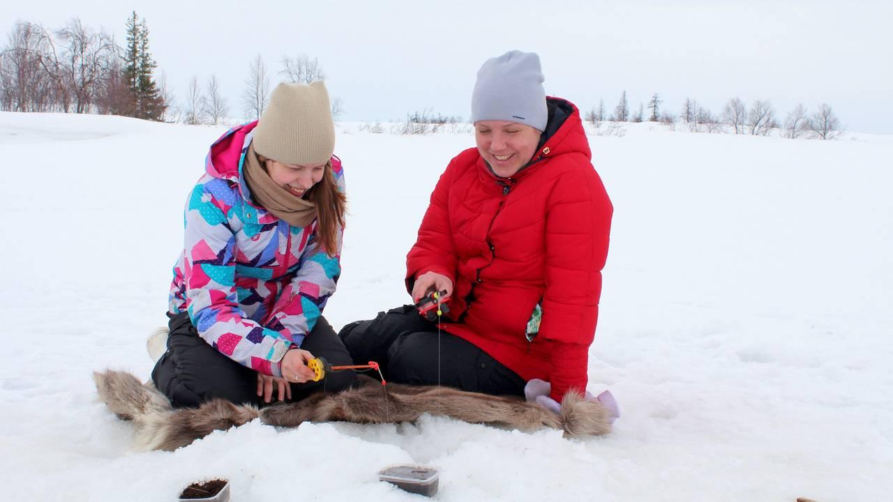 IJsvissen, Fins Lapland