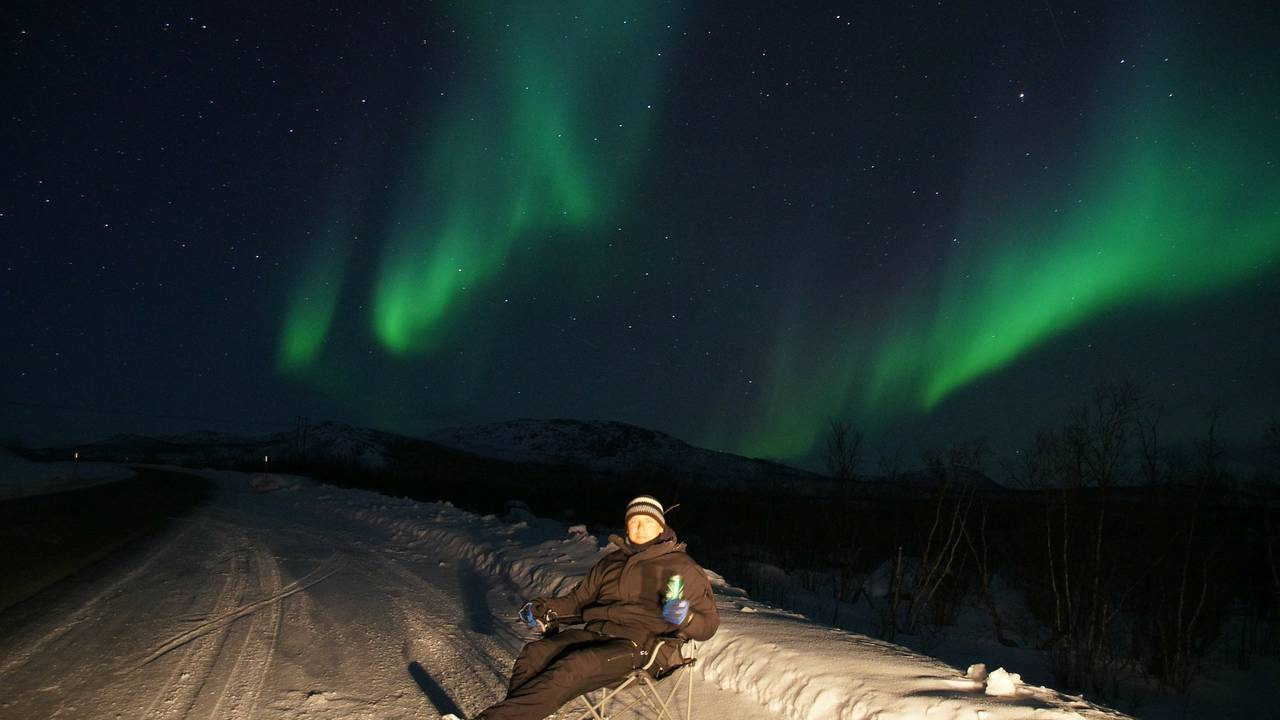 Noorderlicht, Fins Lapland