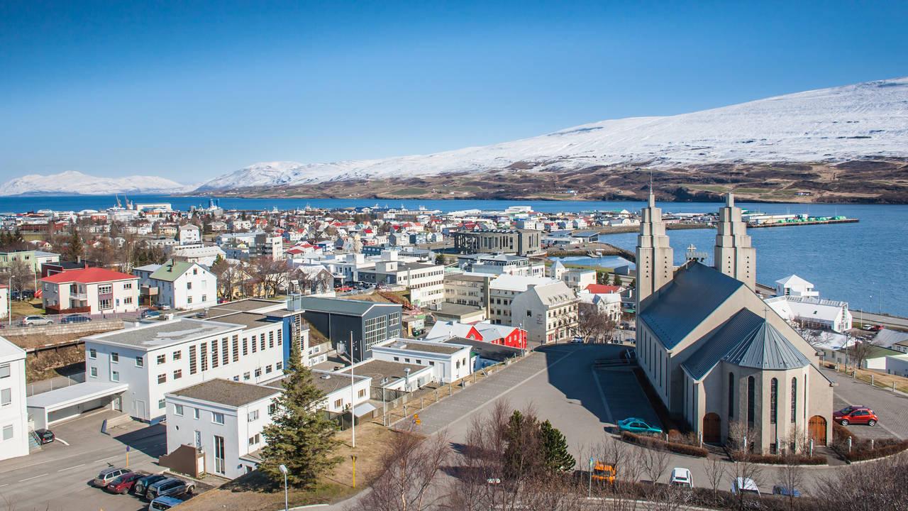 Ijsland, Akureyri