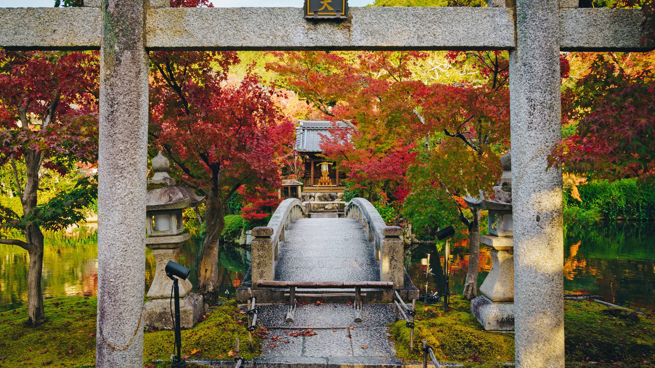Eikando tempel, Kyoto