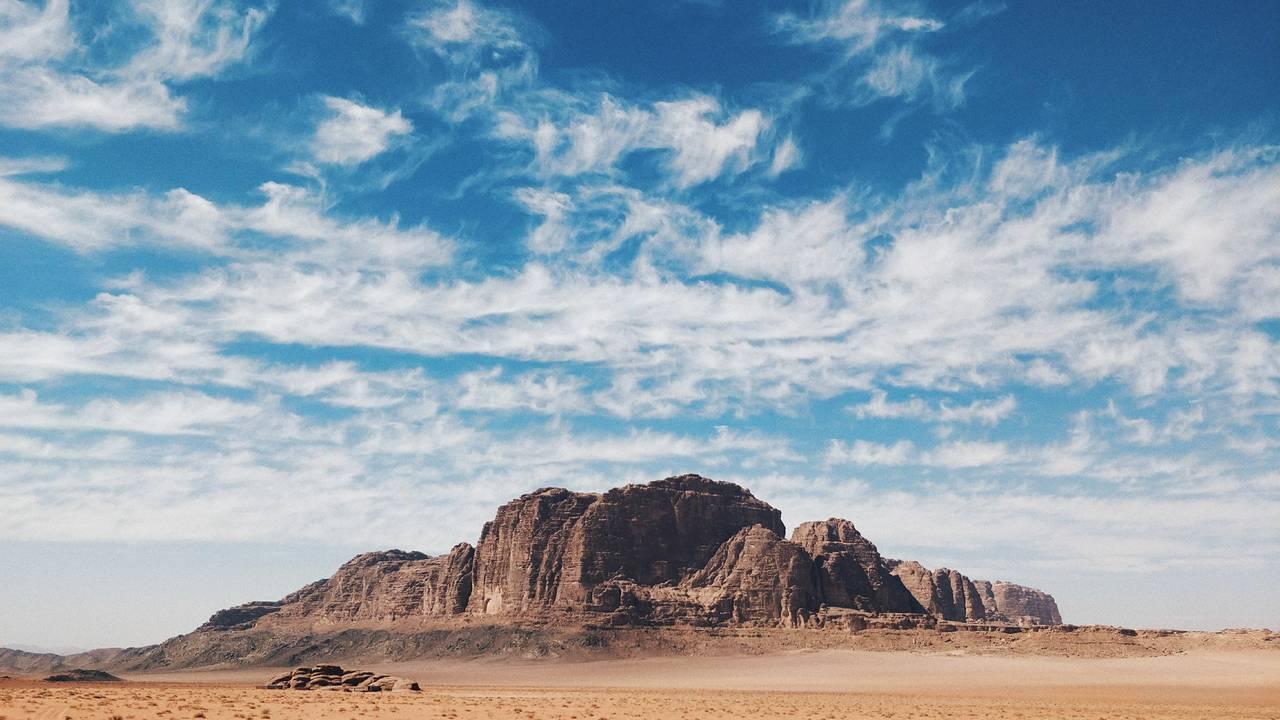 Rots in Wadi Rum