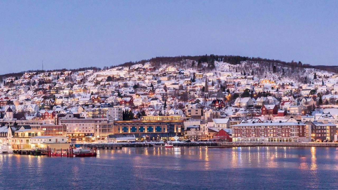 Uitzicht Tromsø