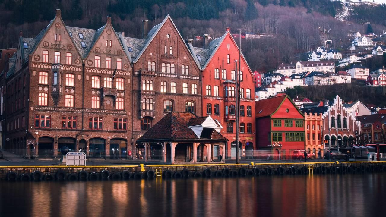 Huizen in Bergen