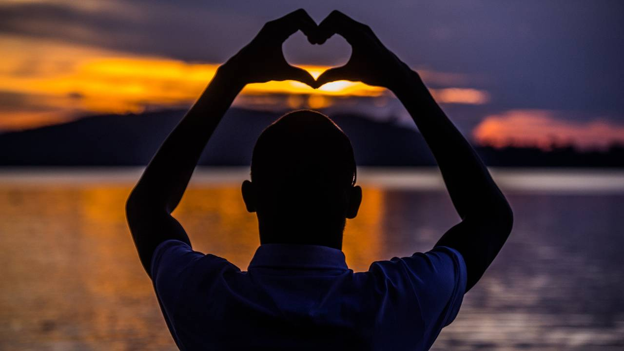 Zonsondergang, Oeganda
