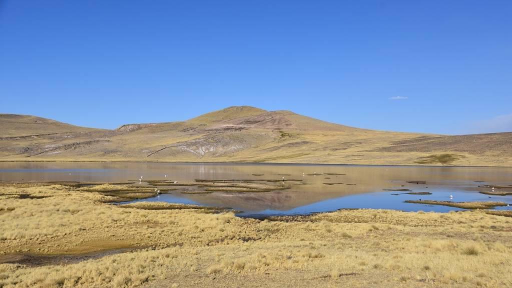 Umayo meer bij Puno