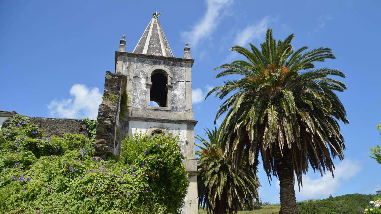 Oude kerk op Faial