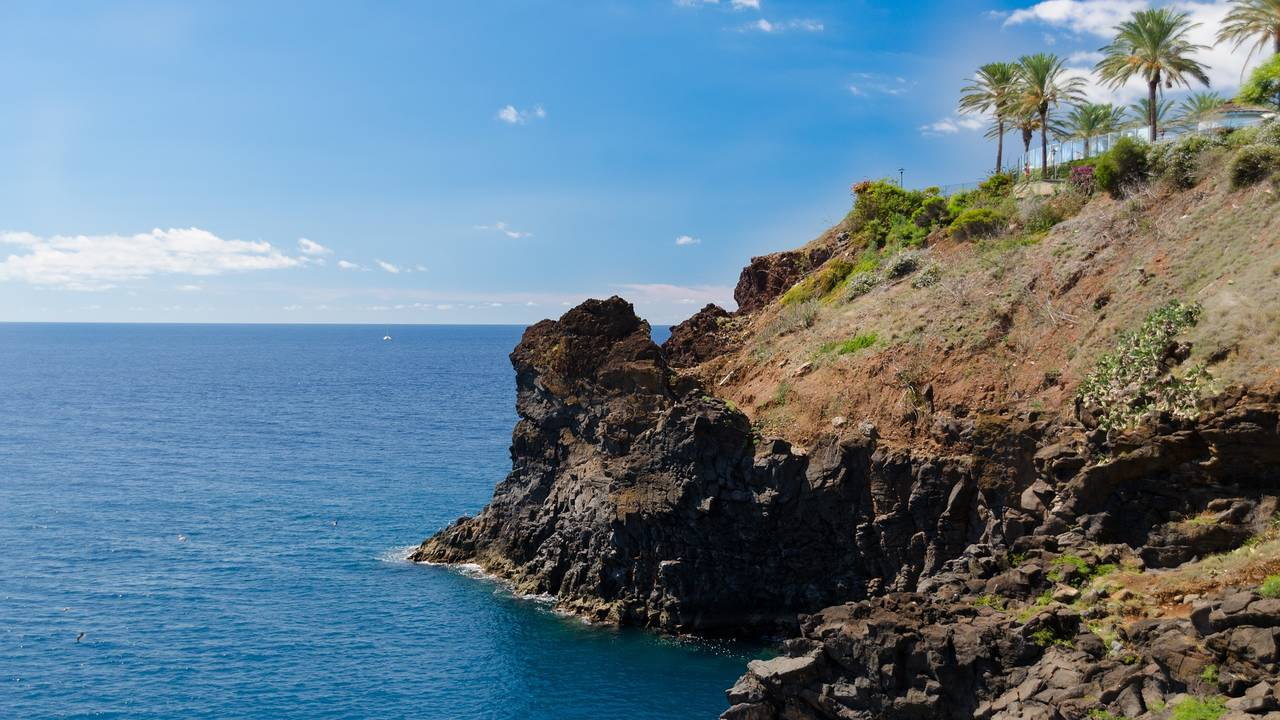 Kustlijn Funchal, Madeira