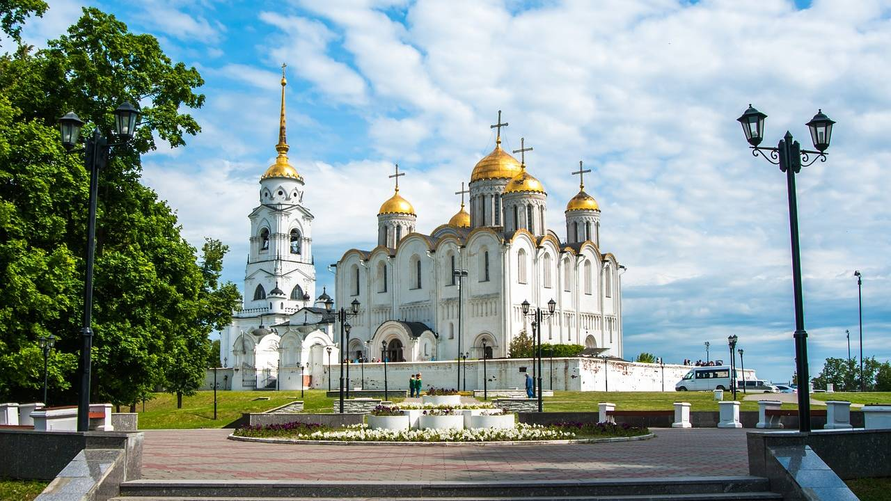 Kathedraal in Vladimir