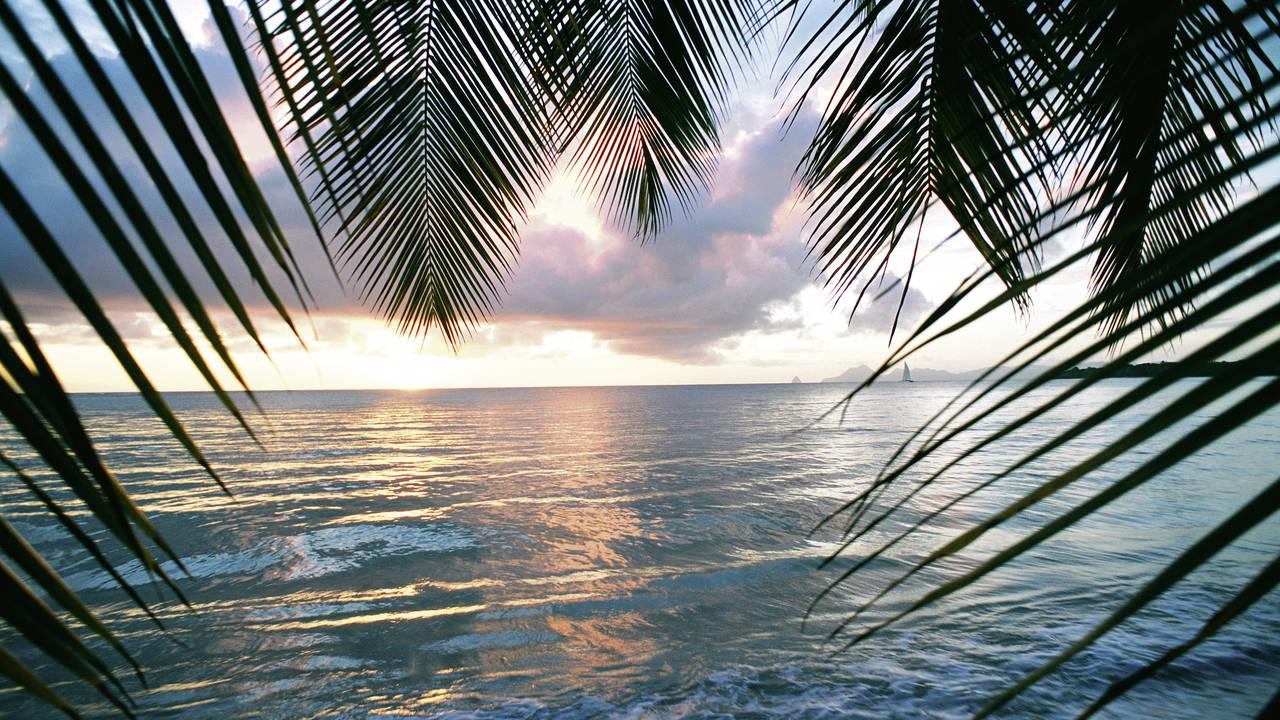 Zonsondergang op Curaçao