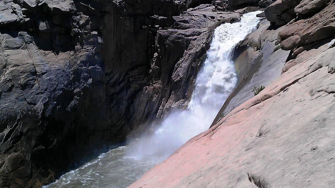 De Augrabies watervallen