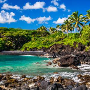 Wainapapa State Park, Maui, Hawaii