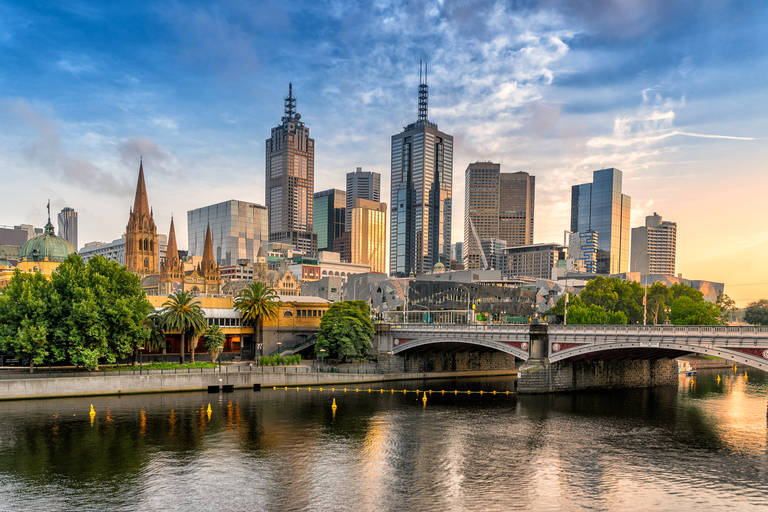 Skyline in Melbourne