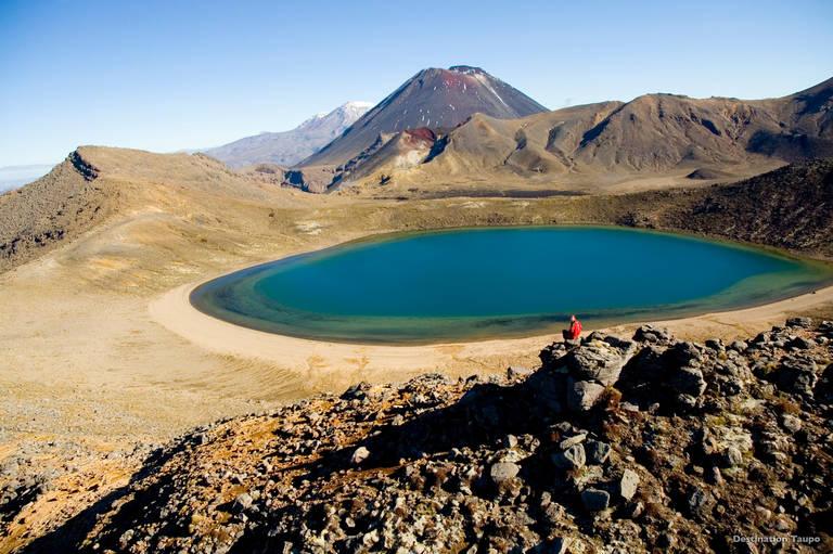 Blue Lakes, Tongariro National Park