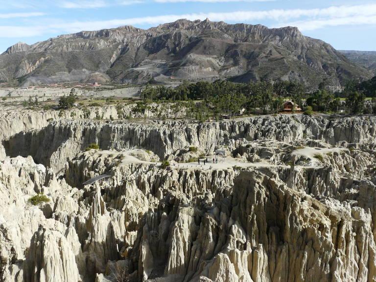 Maanvallei bij La Paz