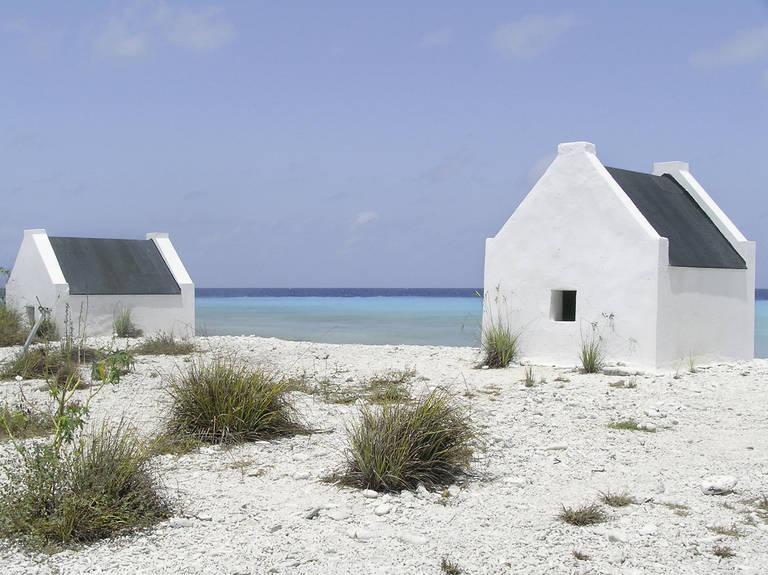Slavenhuisjes op Bonaire