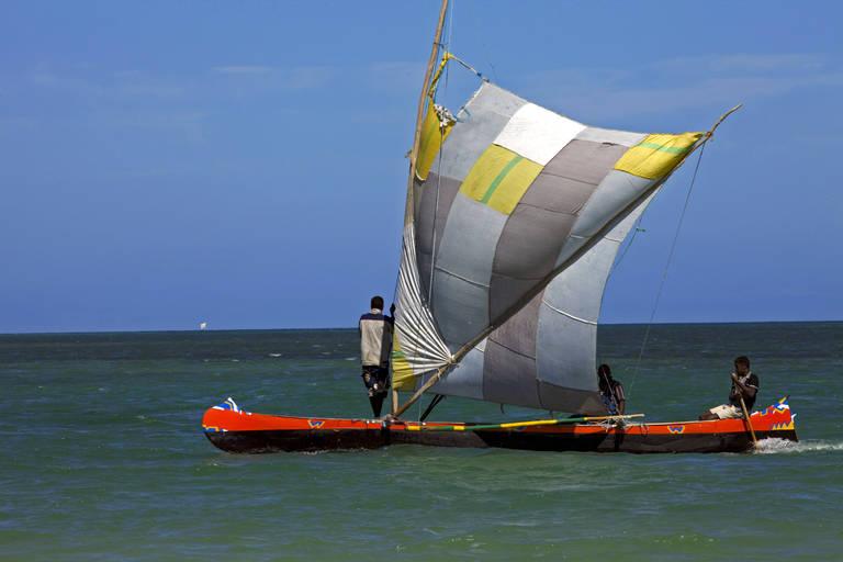 Boot bij Ifaty