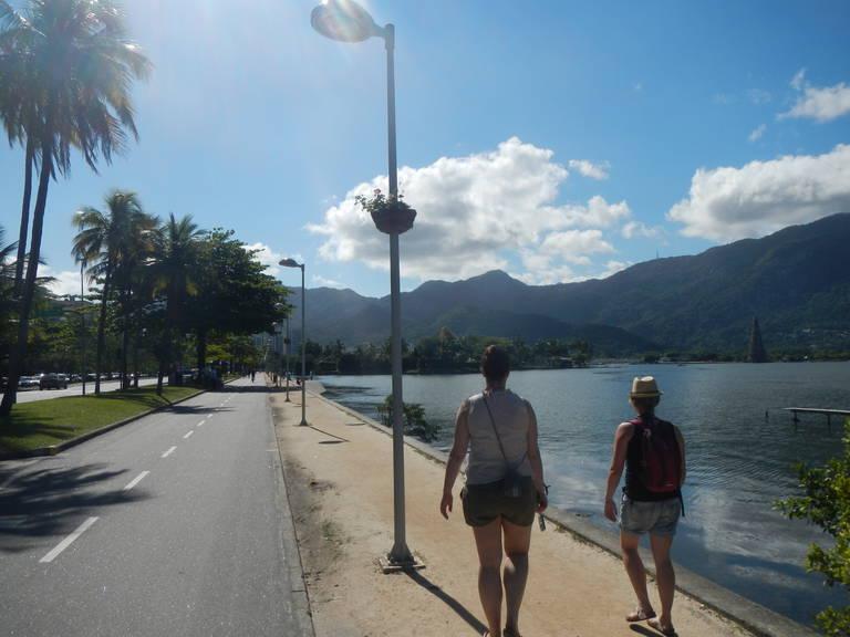 Wandelen in Rio de Janeiro