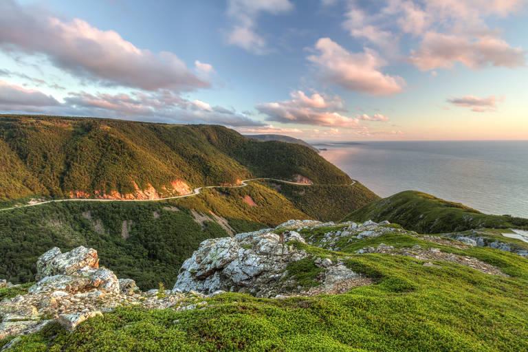 Cabot Trail in Nova Scotia