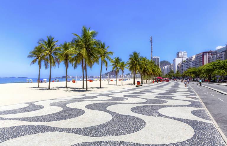 Boulevard van Copacabana