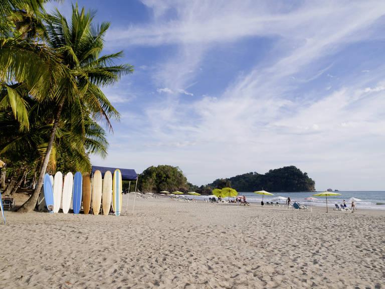 Strand bij Manuel Antonio