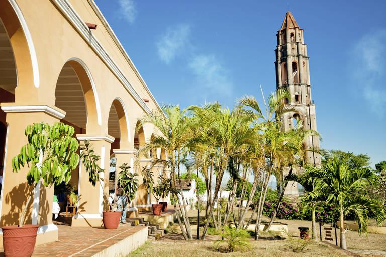 Hacienda in de omgeving van Trinidad