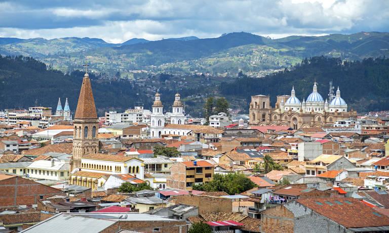 Uitzicht op Cuenca