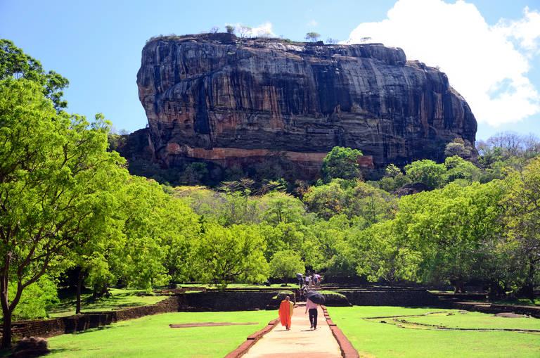 De Leeuwenrots, Sigiriya