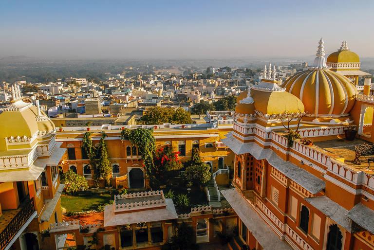 Uitzicht in Deogarh