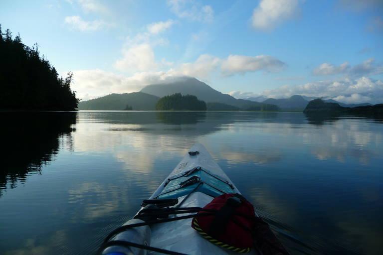 Kayakken in Tofino