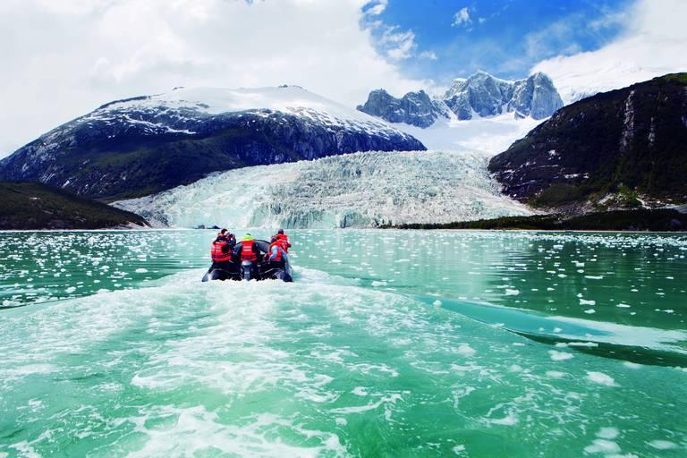 Fjordencruise bij de Pia Gletsjer