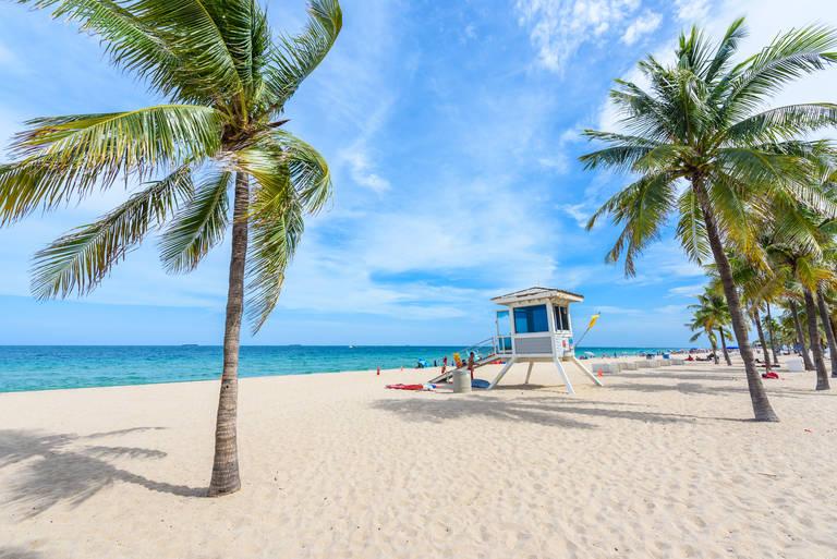 Strand nabij Fort Lauderdale