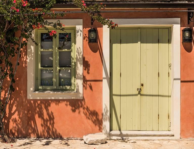 Deur in Griekenland