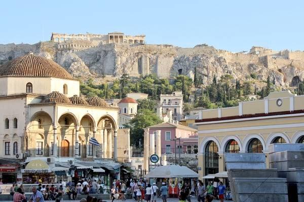 Monastiraki in Athene