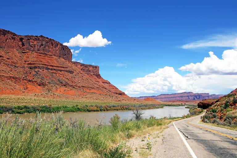 Landschap van Moab