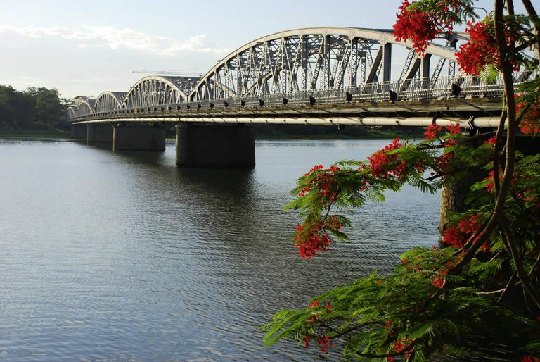 Trang Tien Bridge in Hue